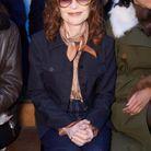 Isabelle Huppert au défilé Chloe