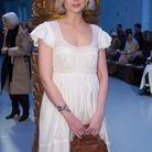 Lucy Boynton au défilé Chloe