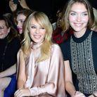 Kylie Minogue et Arizona Muse au défilé Ralph & Russo