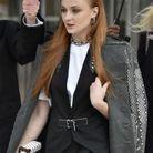 Sophie Turner au défilé Louis Vuitton