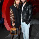 Léa Seydoux et Nicolas Ghesquière au défilé Louis Vuitton