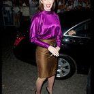 People tapis rouge defiles fashion week paris Emmy Rossum