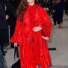 Katherine Langford au défilé Valentino