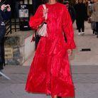Liya Kebede au défilé Valentino