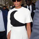 Naomi Campbell au défilé Valentino