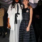 Millie Bobby Brown et Naomi Campbell au défilé Moncler