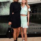 Kate Moss et Lila Grace prennent la pose devant les photographes
