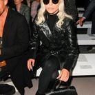 Lady Gaga au défilé Céline