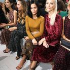 Leigh Lezark et Poppy Delevingne au défilé Michael Kors Collection