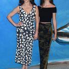 Catherine Zeta-Jones et Carys Zeta Douglas au défilé Michael Kors