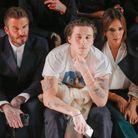 David et Victoria Beckham entourent leur fils aîné, Brooklyn