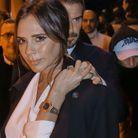 Victoria et David Beckham arrivent main dans la main au défilé Dior