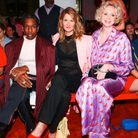 A$AP Rocky, Laura Dern et Gwendoline Christie au défilé Calvin Klein