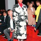 Naomi Campbell au défilé Calvin Klein