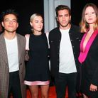 Rami Malek, Saoirse Ronan, Jake Gyllenhaal et Mia Goth au défilé Calvin Klein