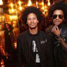 Les Twins à la soirée L'Oréal Gold Obsession
