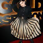 Soko à la soirée L'Oréal Gold Obsession