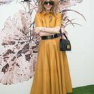 Céline Dion, au défilé Dior
