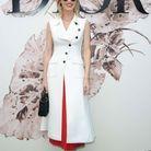 Eva Herzigova, au défilé Dior