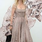 Sandrine Kiberlain, au défilé Dior