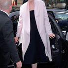 Gwendoline Christie au défilé Dior Homme