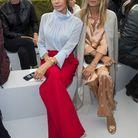 Victoria Beckham et Kate Moss au défilé Dior Homme