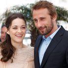 """Les deux stars du film """"De rouille et d'os"""", Marion Cotillard et Matthias Schoenaerts"""