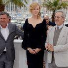 Nicole Kidman, entouré de Daniel Auteuil et Steven Spielberg