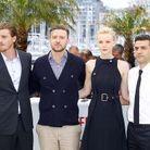 Garrett Hedlund , Justin Timberlake, Carey Mulligan et Oscar Isaac