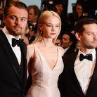 Leonardo DiCaprio, Carey Mulligan (en Dior) et Tobey Maguire