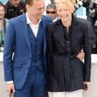Tilda Swinton et Tom Hiddleston