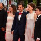 Le casting de « Jeune et jolie » : Frédéric Pierrot, Géraldine Pailhas, François Ozon, Marine Vacth et Fantin Ravat