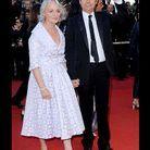 Michel Denisot et son épouse