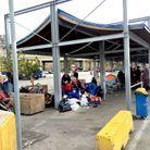 Camping de fortune au Pirée
