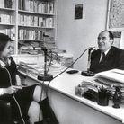 En 1977, avec François Mitterrand
