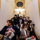 Les membres du Capitole évacuent les lieux