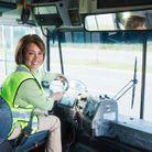Conductrice de bus
