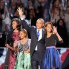 Barack Obama et sa famille à Chicago
