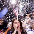 Joie des militants démocrates