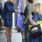 Brigitte Macron et Emma Watson