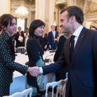 Emma Watson et Emmanuel Macron