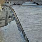 Les quais de Seine commencent a être innondés