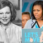 Michelle obama rosalynn carter