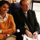Najat Belkacem et François Hollande