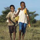Francklyn, 14 ans, et son frère Olivier, Madagascar