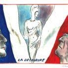 La présidentielle vue par Karl Lagerfeld