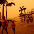 Les îles Canaries (Espagne) ont été particulièrement touchées par cette seconde tempête de sable en provenance du Sahara