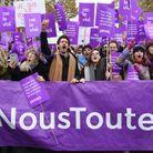 Les Françaises dans la rue à l'appel de  #NousToutes
