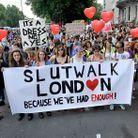 Societe marche des slapes SlutWalks londres 2