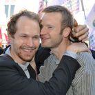 Jérôme, 40 ans et Damien, 26 ans, en couple depuis deux ans